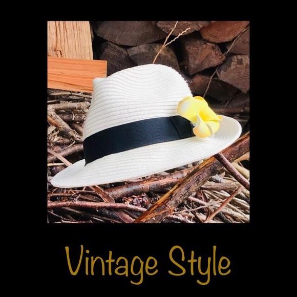 🌼Aritzia Straw Panama Hat